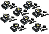 Elite Core 8-Pack of PMA Personal Monitor Deluxe Stations w/ EU-5X Earphones