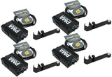 Elite Core 4-Pack of PMA Personal Monitor Amplifier Listening Stations