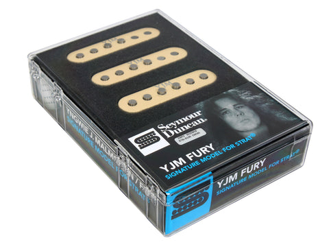 Seymour Duncan YJM Fury STK-S10 Stacked Humbucker Guitar Pickup Set for Strat AW