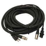 Elite Core PA25 25' Powered Speaker Cable XLR+AC