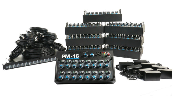 Elite Core PM-16-CORE-8 Complete Personal Mixer 8 Pack