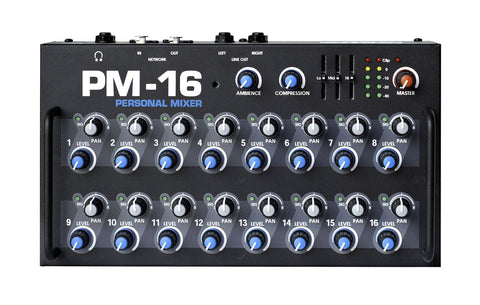 Elite Core PM-16-CORE 16 Channel Personal Monitor Mixer