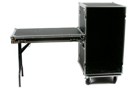 "OSP 20 Space ATA Effects Amp Rack Flight Case 19"" Wide 20"" Deep"