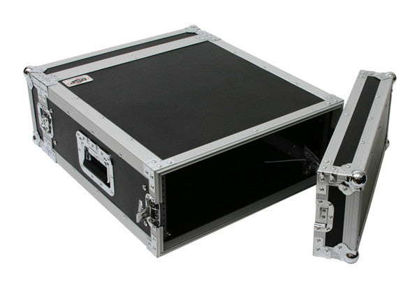 "OSP RC4U-20 4 Space ATA Effect Amp Rack Flight Case 19"" Wide 20? Deep"