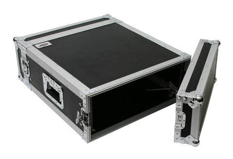 "OSP 3 Space 3 U ATA Effect Amp Rack Flight Case 19"" Wide 20"" Deep"