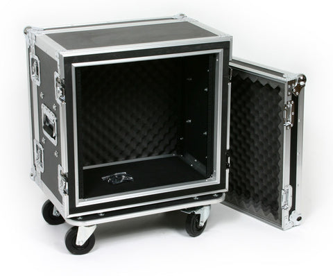 "OSP SC10U-12 10 Space 10 U ATA Shock Effects Flight Rack Case 19"" Wide 12"" Deep"