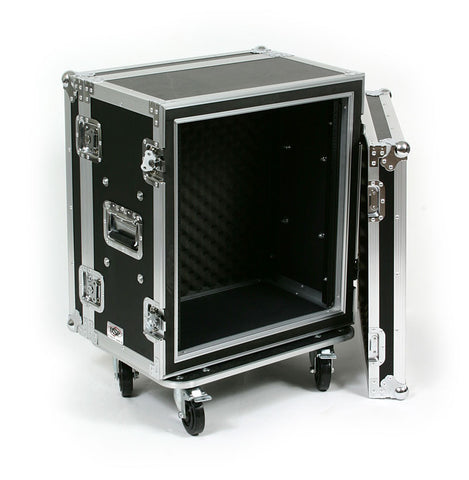 "OSP SC12U-12 12 Space 12 U ATA Shock Effects Flight Rack Case 19"" Wide 12"" Deep"
