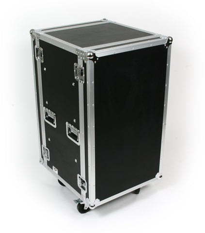 "OSP SC20U-20  20 Space 20 U ATA Amp Flight Rack Case 19"" Wide 20"" Deep"