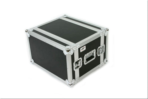 "OSP SC6U-14 6 Space 6 U ATA Shock Effects Flight Rack Case 19"" Wide 14"" Deep"