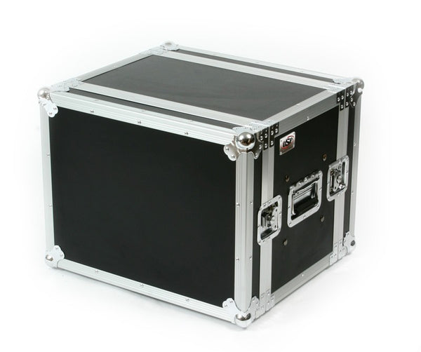 "OSP SC8U-14 8 Space 8U ATA Shock Effects Flight Rack Case 19"" Wide 14"" Deep"