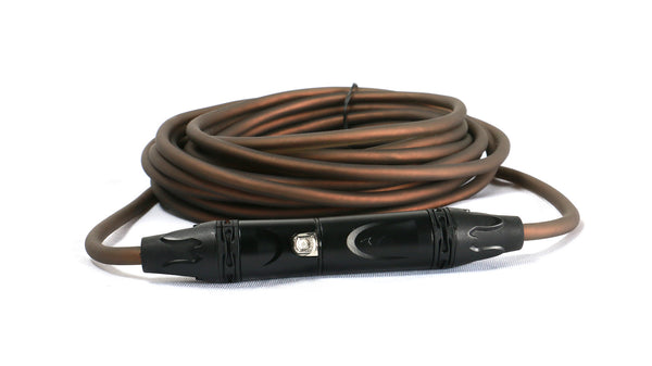 SuperFlex GOLD SFM-15 Smoke Colored Premium 15' Microphone Cable