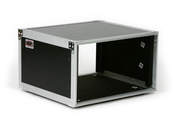 OSP 6 Space 6u Amp or Effects Rack Mount Studio Case