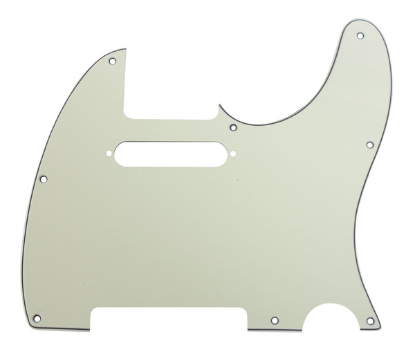 920D CS Mint Green 3 Ply Pickguard for Fender Telecaster Tele CNC Precision Cut