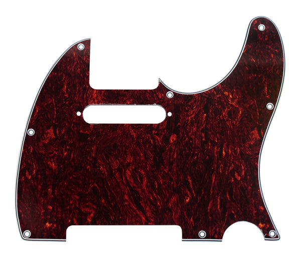 920D CS Tortoise 3 Ply Pickguard for Fender Telecaster Tele CNC Precision Cut