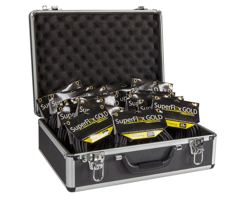 UUC-M Utility Case With (15) 25' Mic Cables