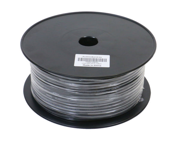 VRL VRLDMXCABLE-3P-300 3 Pin DMX Cable 300' Bulk Spool