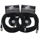XSPRO XSPDMX3P50 3 Pin DMX Light Cable 50' - 2PAK