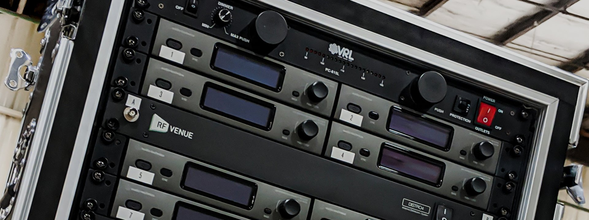 Custom Loaded AVL Pro Audio Racks