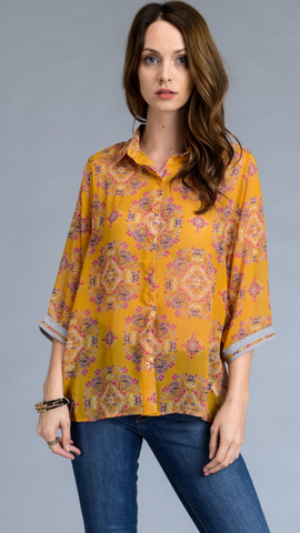 """Daisy and Daydreams"" Women's Blouse"