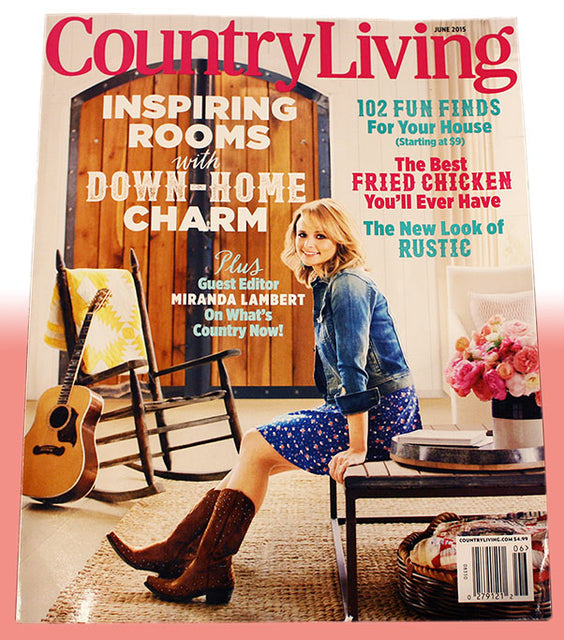 Press feature: Country Living Magazine!