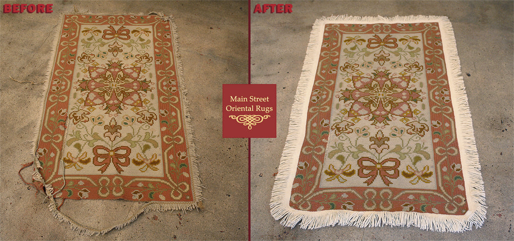 Portuguese Needle Point Rug Repair