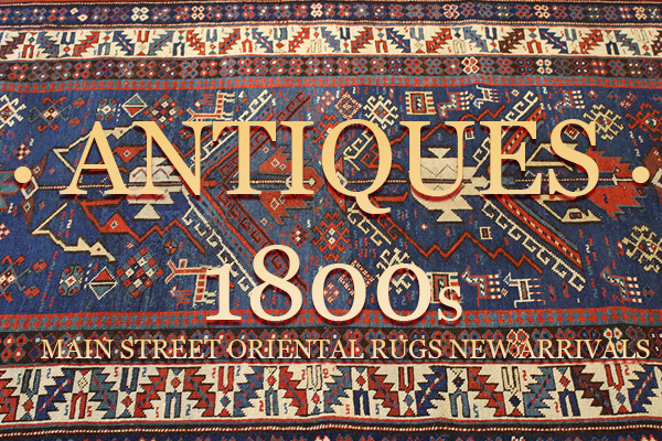 Newly Acquired: Antique Kazak Rugs
