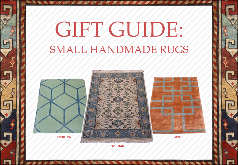 Gift Guide: Small Handmade Rugs