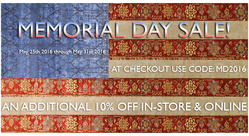 The Memorial Day Sale Has Begun!