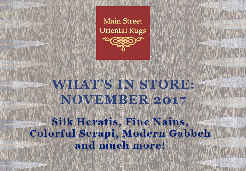 What's In Store: November 2017