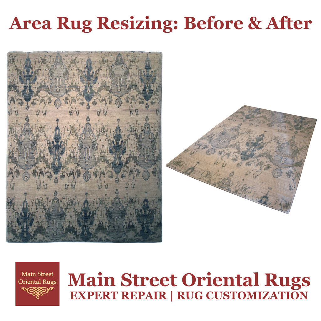 Area Rug Resizing: Before & After