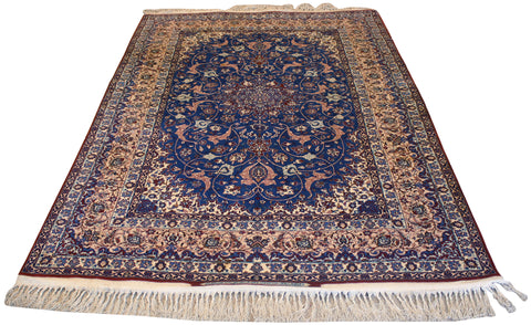 Online area rug auction preview image Seirafian rug