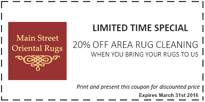 20% off area rug cleaning coupon