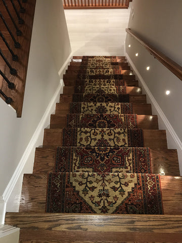 expert stair runner installation
