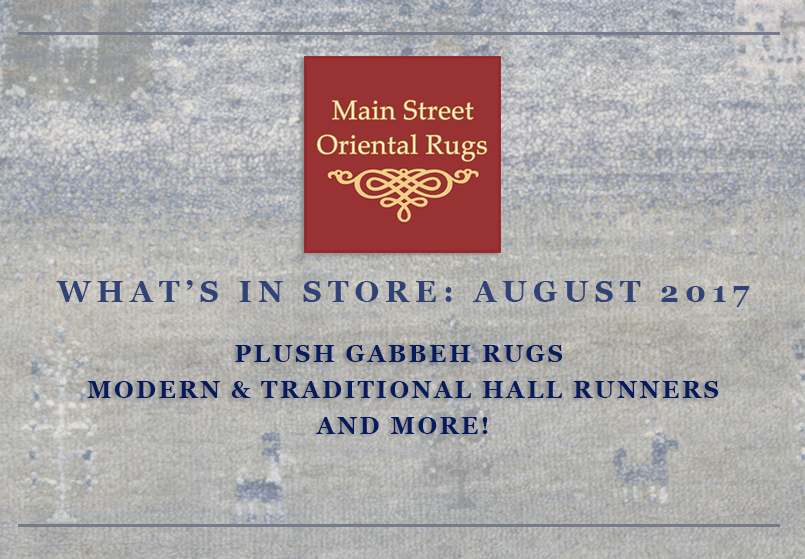 New area rug inventory - Main Street Oriental Rugs