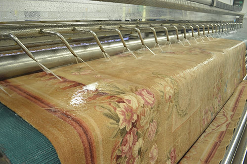 Disinfectant Wash at Main Street Oriental Rugs