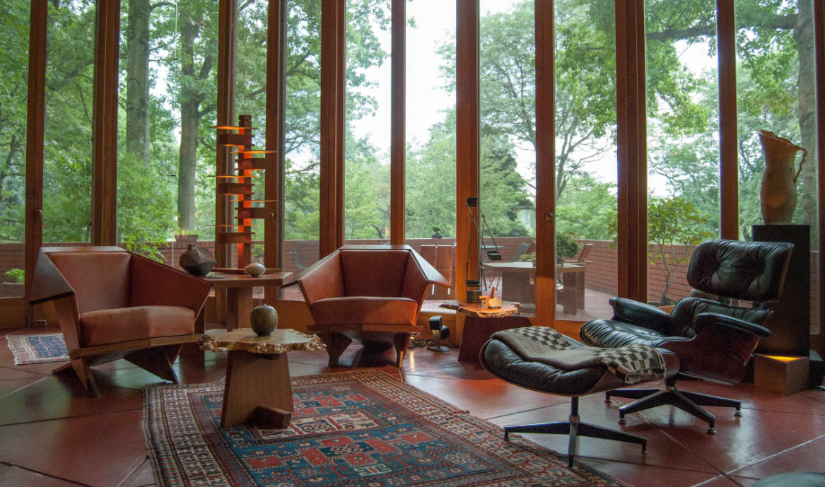 Houzz: A Frank Lloyd Wright Home, Lovingly Restored