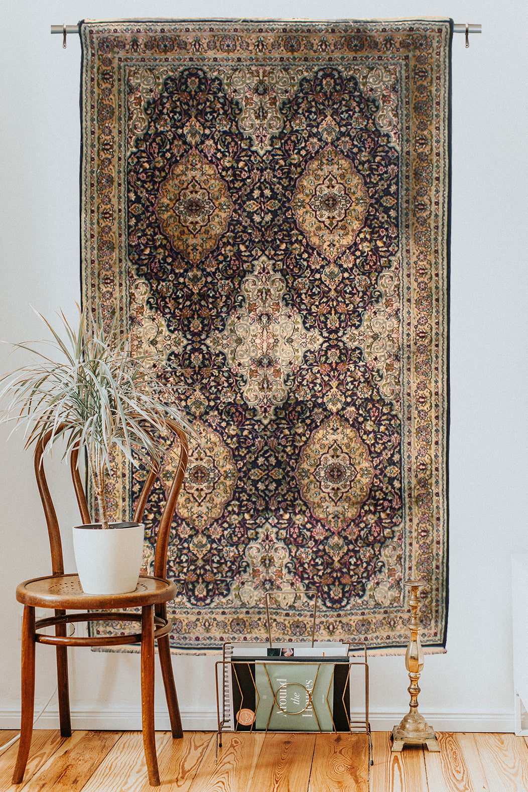 How to hang an Oriental rug on the wall