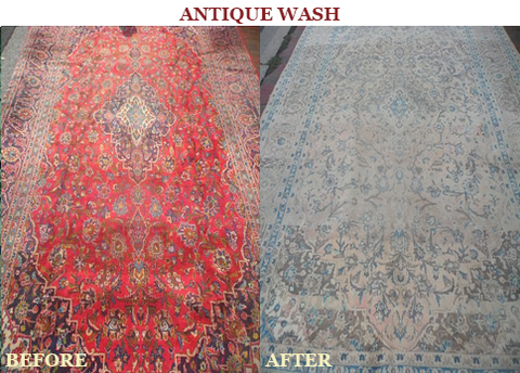Antique Wash - Main Street Oriental Rugs