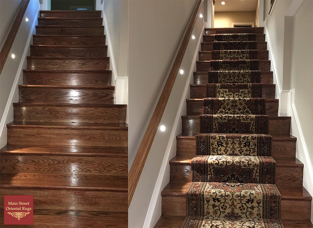 Stair runner installation - Pattern matching