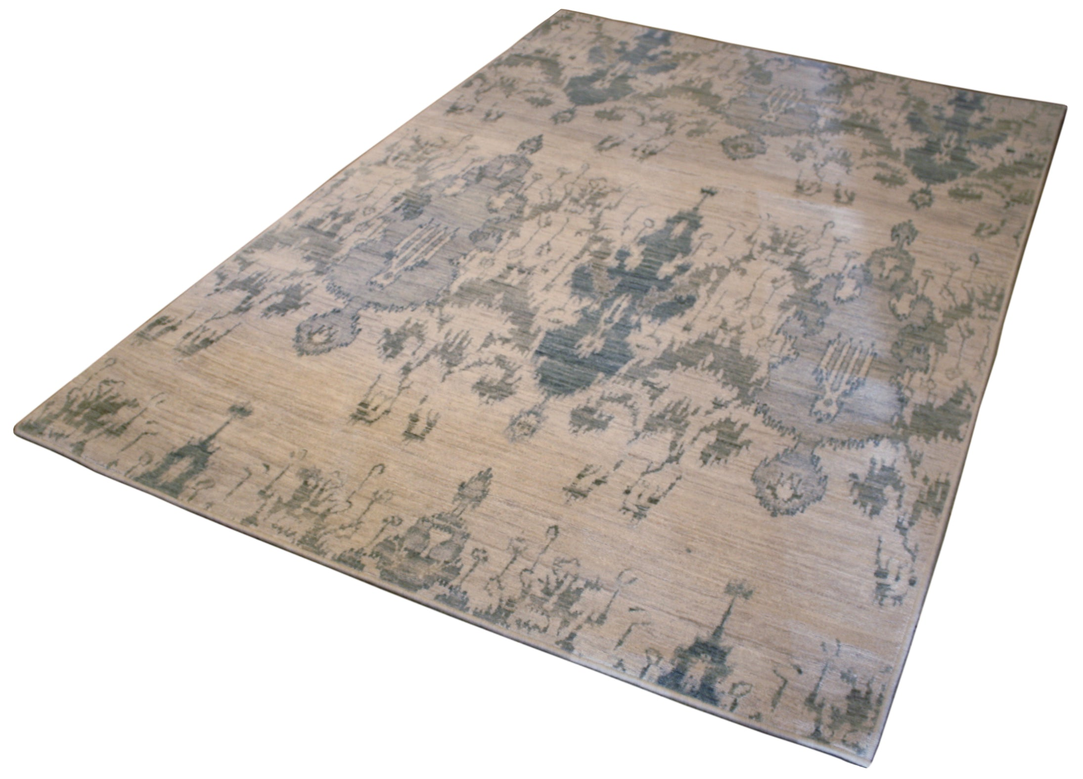 8x10 transitional area rug resized to 5x7