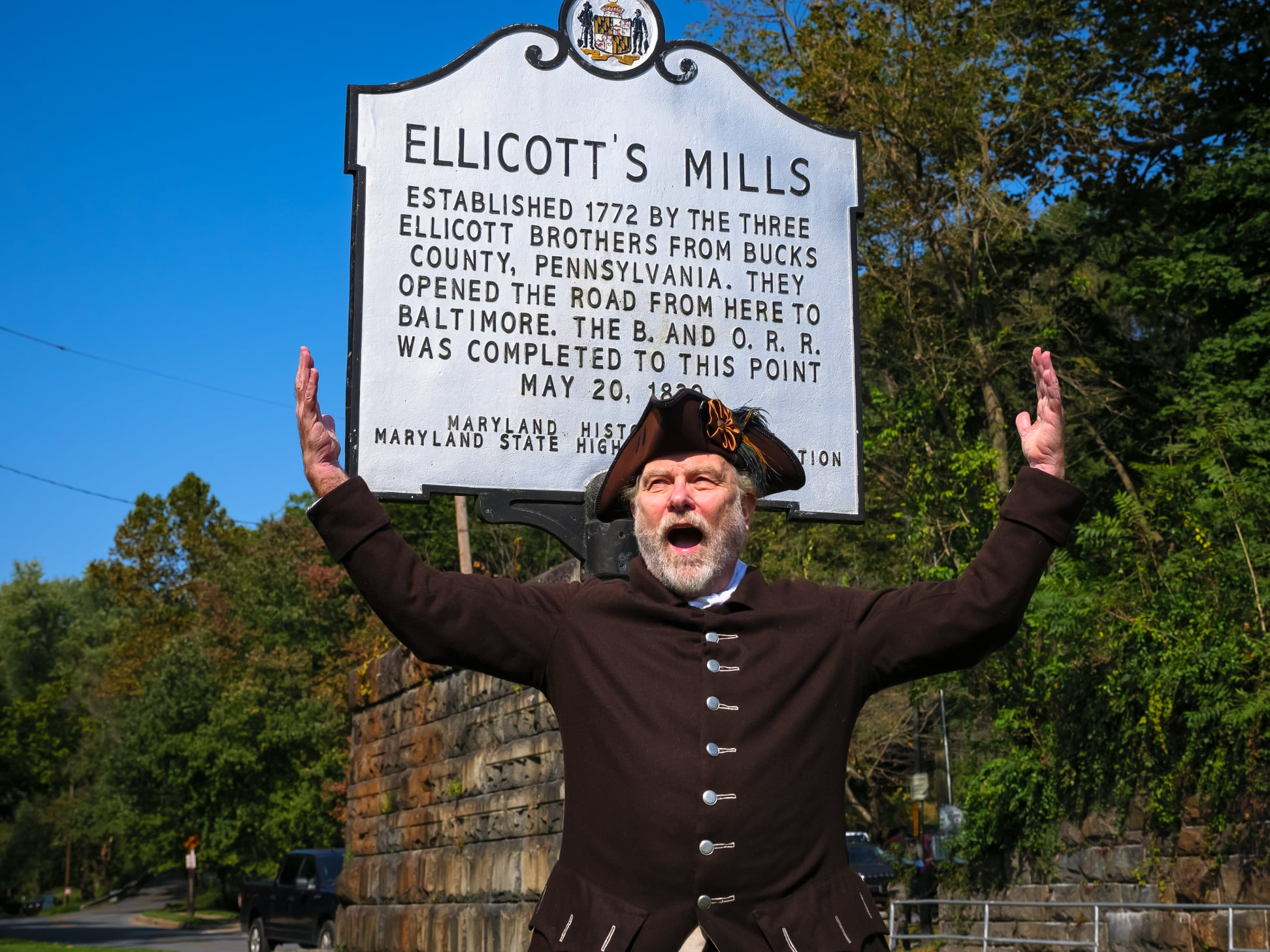 Historic Ellicott City Where's George?