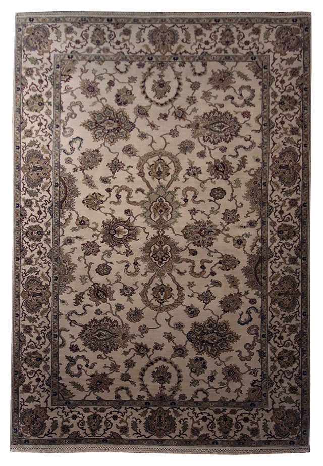 6x9.3 Indo-Crown - Main Street Oriental Rugs