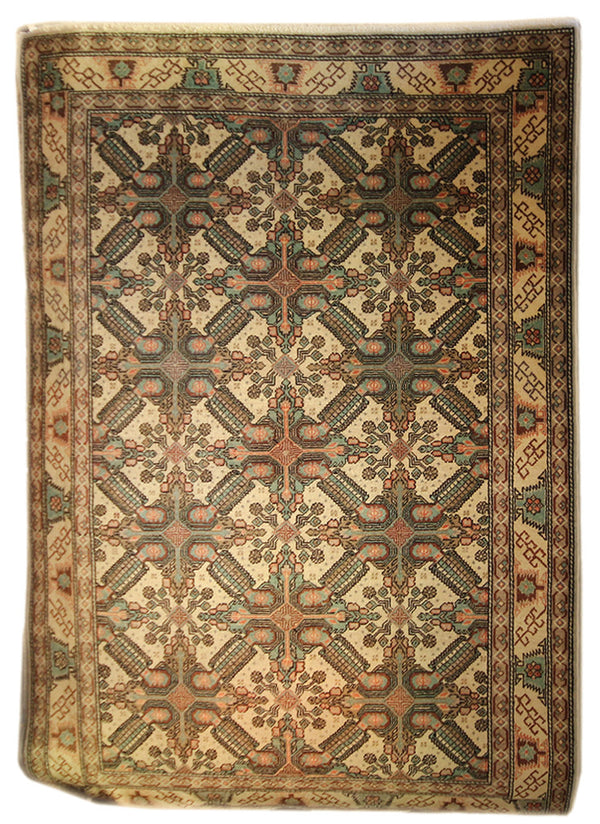 4.10x7.1 Antique Turkish - Main Street Oriental Rugs