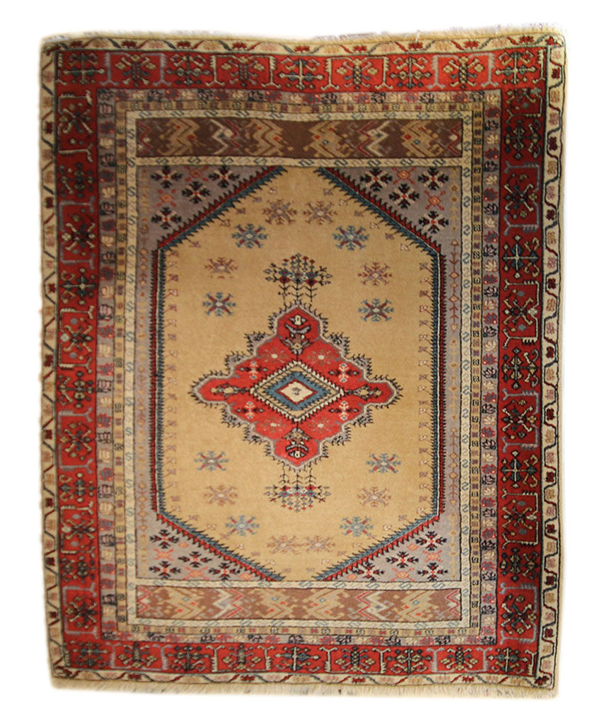 4.5x5.5 Antique Turkish - Main Street Oriental Rugs