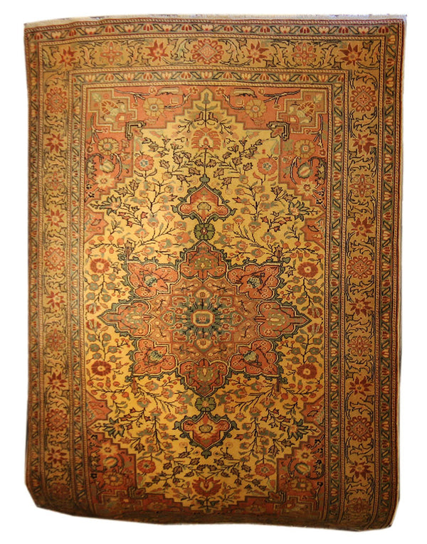 5x7 Antique Turkish - Main Street Oriental Rugs