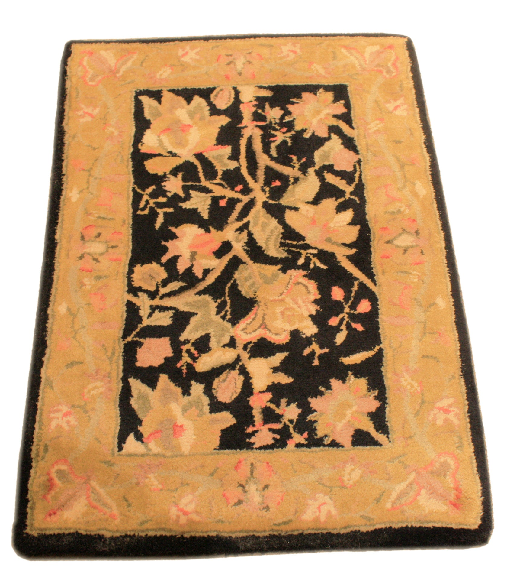 2x3 Tufted Floral Motif - Main Street Oriental Rugs