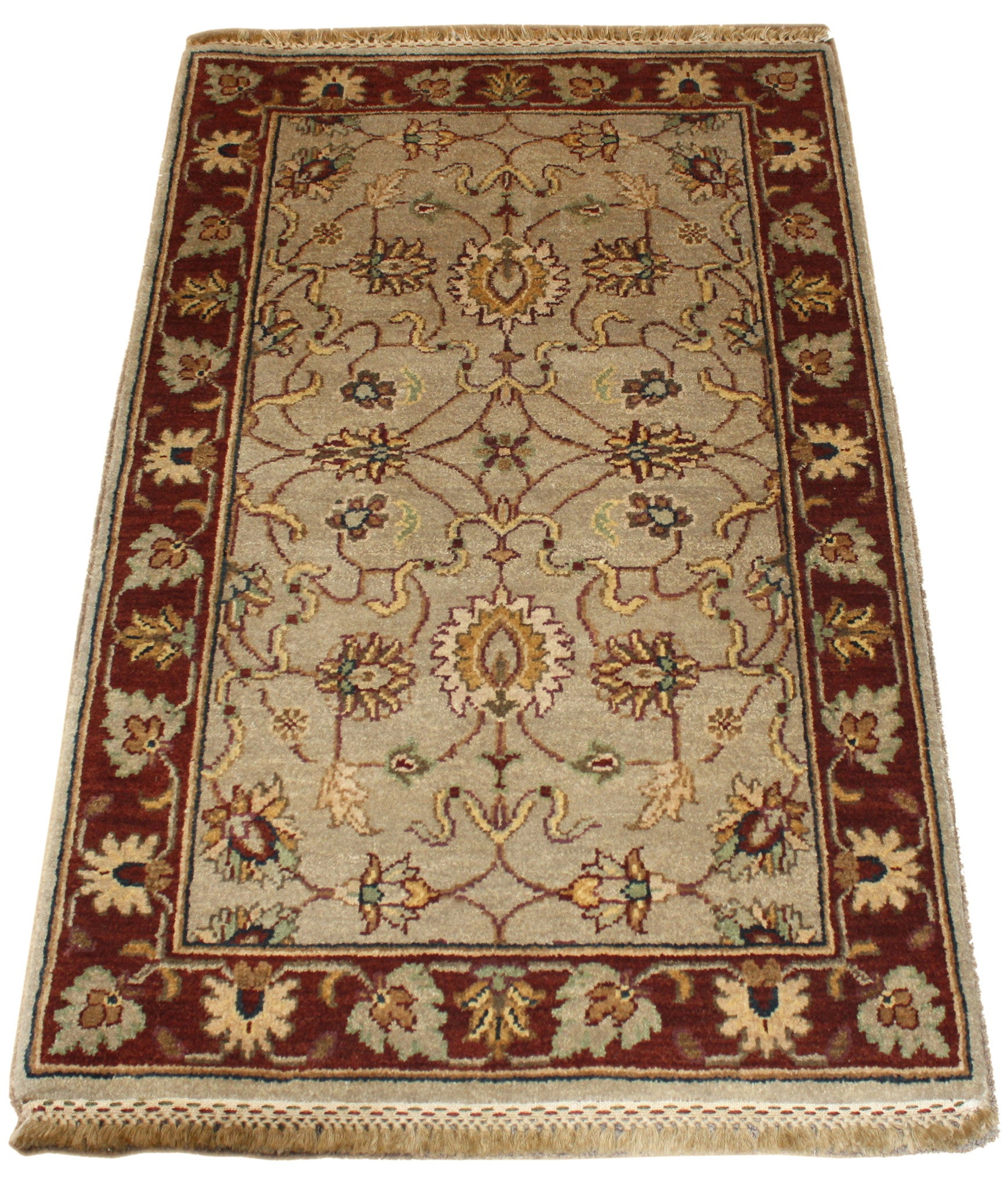 2.7x4 Persian Design - Main Street Oriental Rugs