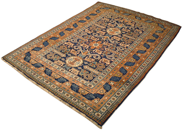 4.7x6.4 Antique Russian Shirvan