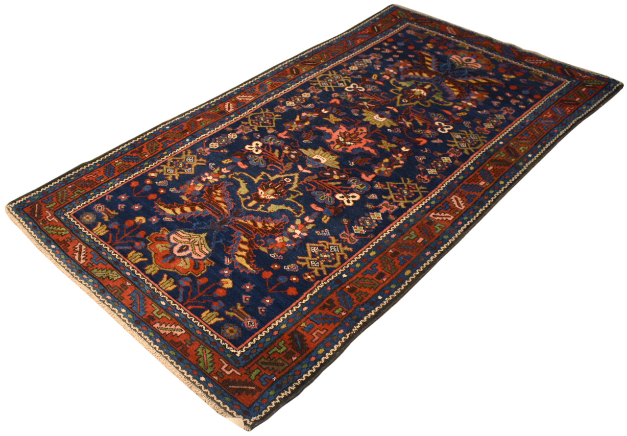 3.6x4.5 Antique Persian Malayer