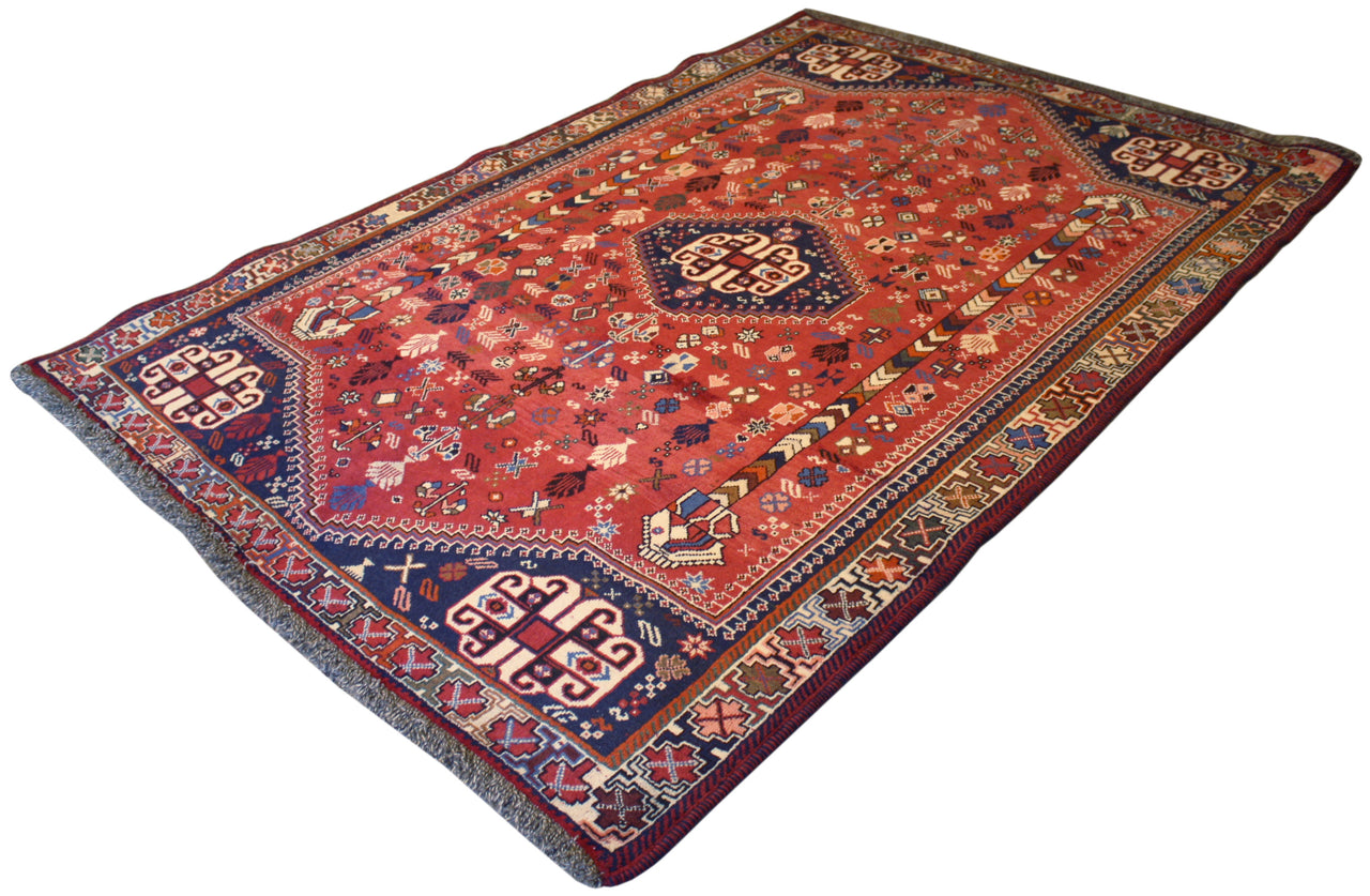 5.3x7.9 Vintage Persian Shiraz